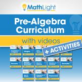PreAlgebra Curriculum + Videos + Activities | Growing Bund