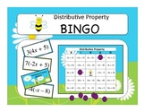 Pre-Algebra: Distributive Property BINGO Game