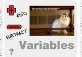 "Pre-Algebra: (EE.1) ""Solving Equations by Adding&Subtracting"" Prezi/iPad Lesson"