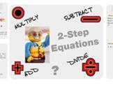 "Pre-Algebra: (EE.3) ""Solving Multi-Step Equations"" Prezi/iPad Lesson"