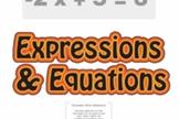 Pre-Algebra: Expressions & Equations Unit (4 Prezi/iPad Lessons)
