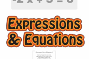 Pre-Algebra: Expressions & Equations Unit (4 Prezi/iPad Lessons)