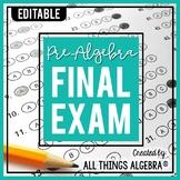 Pre-Algebra Final Exam