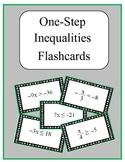 Pre-Algebra: Flashcards - Solving One-Step Inequalities