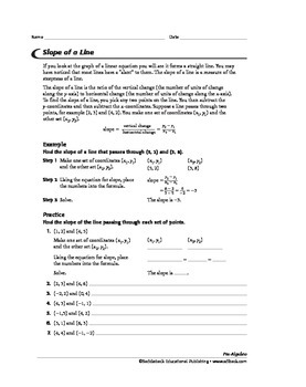 Pre-Algebra: Graphing and the Coordinate Plane