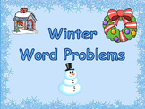 Holiday Word Problems (PowerPoint, PDF)