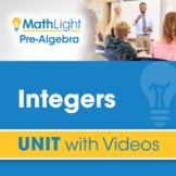Integers | Pre Algebra Unit with Videos