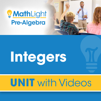Integers | Pre Algebra Unit with Videos