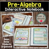 Pre-Algebra Interactive Notebook DISTANCE LEARNING