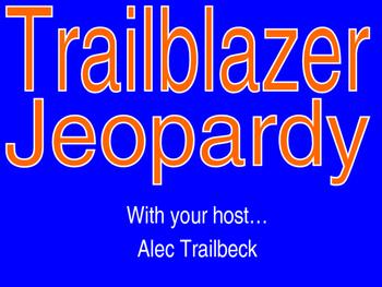Pre-Algebra Jeopardy-Style Review Game