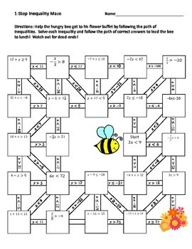 Middle School Math Maze Bundle
