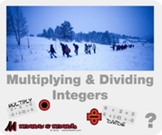 "Pre-Algebra: (NS.3) ""Multiplying & Dividing Integers"" Prezi/iPad Lesson"