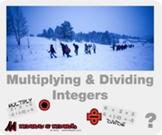 "Pre-Algebra: (NS.3) ""Multiplying & Dividing Integers"" Prezi/iPad Lesson"