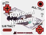 "Pre-Algebra: (NS.6) ""+,-,• and ÷ of Rational Numbers"" Prezi/iPad Lesson"