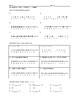Pre-Algebra Notes - Chapter 2 - Integers