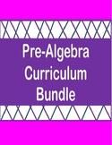Pre-Algebra Curriculum Bundle