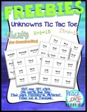 Pre Algebra One Step Equation Games Hands On Middle School Math