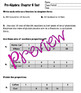 Pre Algebra - Percent Proportion Editable with Answer Key Chapter 6