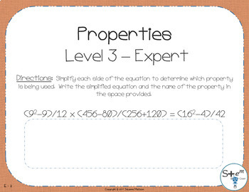 Pre-Algebra: Properties of Addition and Multiplication with Boom Cards