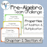 Pre-Algebra: Properties of Addition and Multiplication wit
