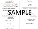 Pre-Algebra Quick Notes Bundle (set of 18 two-sided pages) / Distance Learning