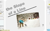 "Pre-Algebra: (RP.2) ""Slope & Rates"" Prezi/iPad Lesson"