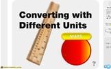 """Pre-Algebra: (RP.6) """"Converting Measurements"""" Prezi/iPad Lesson"""