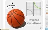 "Pre-Algebra: (RP.8) ""Inverse Variation"" Prezi/iPad Lesson"