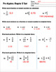 Pre Algebra - Rational Numbers Test: Editable with Answer Key Chapter 5