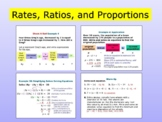 Pre-Algebra | Ratios and Proportions + exemples + QUIZ
