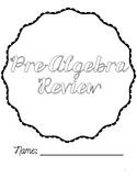 Pre-Algebra Review Packet