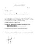 Pre-Algebra Semester Exam Study Guide