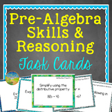 Pre-Algebra Task Cards