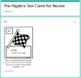 Pre-Algebra Task Cards for Review