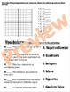 Pre-Algebra Integers Test -Editable Chapter 2