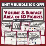 Measurement of 3D Figures: Volume & Surface Area Activities Unit 9 BUNDLE 30%OFF