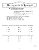 Pre-Algebra Worksheets 1: Teach, Reinforce, & Assess
