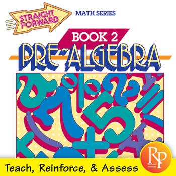 Pre-Algebra Worksheets 2: Teach, Reinforce, & Assess by Remedia | TpT