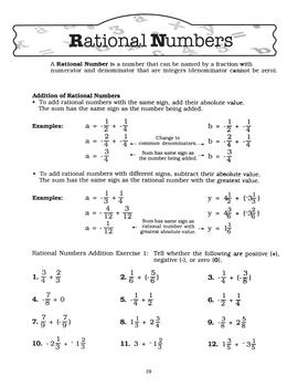 Pre-Algebra Worksheets 2: Teach, Reinforce, & Assess