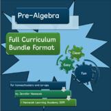 Pre-Algebra homeschool FULL CURRICULUM BUNDLE