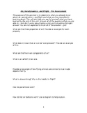 Pre Assessment - Air, Aerodynamics, and Flight