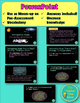 Pre-Assessment Astronomy: Stars, Galaxies, & Universe (Presentation & Activity)
