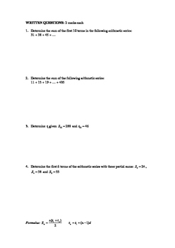 Pre-Calculus 11 BUNDLED COURSE QUIZZES with FULL SOLUTIONS