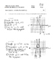 Pre-Calculus 11: Graphing Reciprocal Functions Quiz with FULL SOLUTIONS