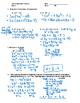 Pre-Calculus 11: Quadratics Equations Quiz 1 with FULL SOLUTIONS