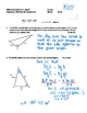 Pre-Calculus 11: Trig Quiz-Sine and Cosine Law with FULL S