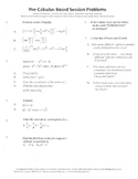 Pre-Calculus Board Session 15,ACT/ SAT Prep,probability,adv. function work