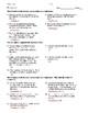 Pre Calculus - Discrete Mathematics - Homework Pack