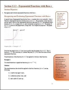 Pre-Calculus:  Part 2
