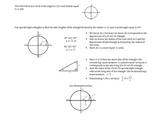 Pre Calculus Unit Circle Activity